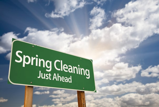Spring Cleaning – Time to call in a pro!