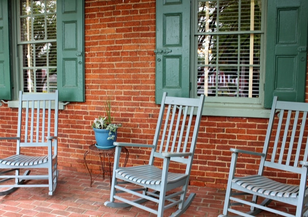 Southern Porch Style with a Goodwill Twist