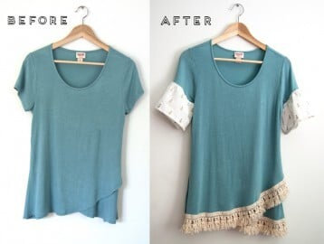 Simple Summer Top DIY