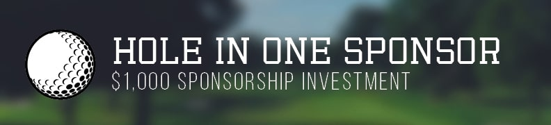 Sponsorship Levels 2018 Hole In One Sponsor non sold