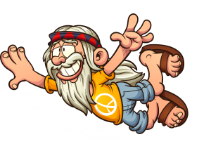 2019 Hippie Dash Logo