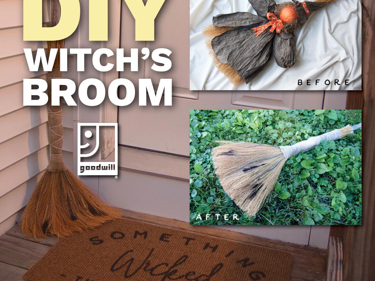 DIY Witch's Broom