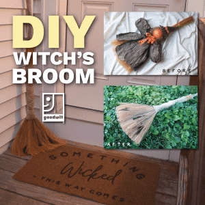 DIY Witchs Broom