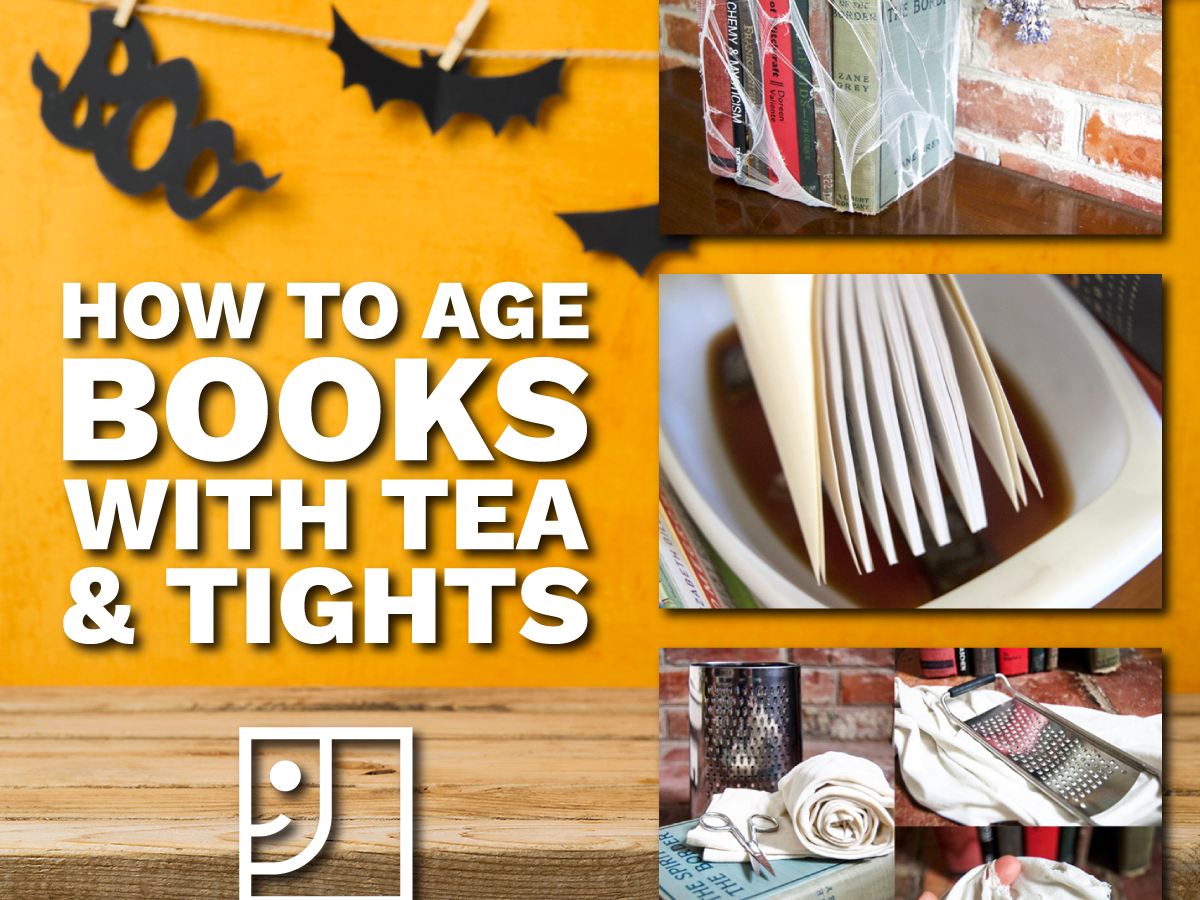 How to Age Books with Tea and Tights