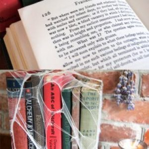How to Age Books with Tea and Tights 12