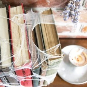 How to Age Books with Tea and Tights 4