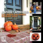 Last Minute Halloween Doorway Ideas