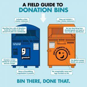 donation bin field guide