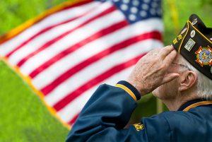 volunteering veterans banner